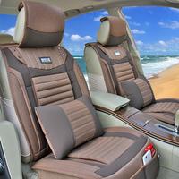 2014 summer new Car seat oxford fabric car seat cover linen summer seat cushion four seasons car general