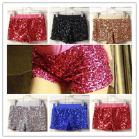Free Shipping Ballroom Wear Fashion Costumes JAZZ HIP HOP DS Nightclub Singer Sequined Leggings Shorts 6 Colors