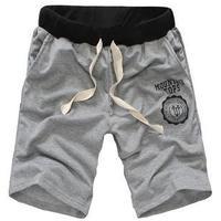 2014 new fashion lovers summer shorts / men's sport short pants / male Cotton polyester shorts / 8 color women size S men M-XXXL