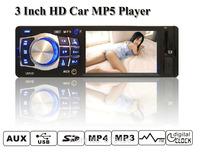 2014 new 3.5'' TFT HD,Car mp4 player,1 din,USB/SD Card/Remote Control Support,Car Radio,car player,car mp5,car mp3 player