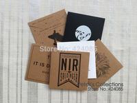 CUSTOM MAKE Kraft Paper CD DVD Case Cover Bag Envelopes Sleeve OEM Service Logo Stamp Printing Your Logo