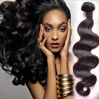Unprocessed Indian Virgin Hair Body Wave 3/4Pcs Lot Natural Black Human Hair Extension Ms Lula Hair Products Can Dye Tangle Free