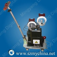 Automatic eyelet press machine for PVC banner