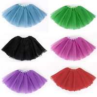 2014 new Baby Girls Kid Children Infant Tutu Dancewear Skirt Ballet Clothes Costume Tulle Pettiskirt Princess 3-5 years #KS0117