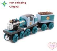 Fast Shipping Ferdinand set Original Thomas And Friends Wooden Magnetic Railway Model Train Engine Boy / Kids Toy , 3072