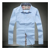 New 2014  Shirt Men's  casual dress Mens brand Designer Clothes Spring Shirts Slim man spring 2014 t-shirt men clothing