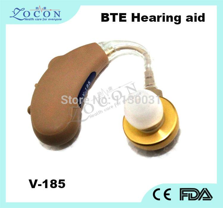 Аудио усилитель AXON v/185bte /dierect 50pcs\ctn DHL V-185 BTE Hearing aid devices for hearing mini digital hearing aid voice recorder minds aparelho auditivo 6 canais s 16a free shipping