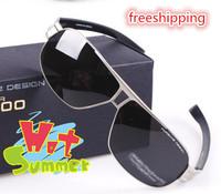 2013 sunglasses male fashion sunglasses polarized driving glasses myopia black gun color