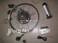 Free Shipping! electric bike Conversion Kits  36V 500W  ebike Conversion Kits+ 36v 15Ah Samsung lithium battery+LCD display