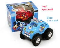 Classic Electric Toy Flip Model Car Children's Plastic Tanks Toy Car