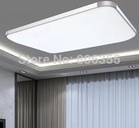 22X22cm 65X45cm  Brief modern living room lamps led ceiling light rectangle lighting bedroom lamp study light