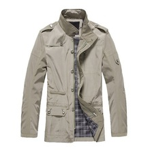 Hot sale Men's coat fashion clothes spring and autumn overcoat,outwear Free shipping(China (Mainland))