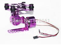 Full set GOPRO23 DJI Phantom PTZ WITH cameras CNC aluminum brushless motor! DIY drone quadcopter ACCS for camera!