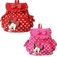 Small Minnie Micky Mouse Little Baby Children Girls Backpacks Cartoon School Bag for Kids ,1719 satchel