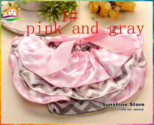 Chevron Girl Pink Gray Shorts,Wave Pattern Pants,Toddler Bow Wear,Cute Baby Girl Clothes,Swim Shorts,#2B1929-1 3 pcs/lot(China (Mainland))
