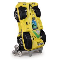 22Styles 3 Wheels 3D Trolley School Bags for Girls Boys Mochilas Kids Cartoon Wheeled Backpack Children Rolling Luggage FreeShip