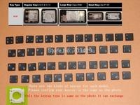 "For Macbook 13"" A1278 15"" A1286 17"" A1297 A1237 AC01 RU Russian keyboard's Key Keycaps 48pcs"