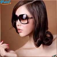 2014 New Summer Sunglasses Women Black Polycarbonate Female Sunglass Uv Radiation Retro Sunglasses Wholesale