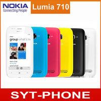 Windows Mobile Phone 3.7 inch Original Nokia Lumia 710 Original Cell Phone WIFI 3G GPS 5MP Mobile phone