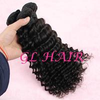 Cheap Grade 6A Peruvian Virgin Hair Weave Mix Size 4pcs lot Deep Wave Hair Bundle 10-30Inch Free Shipping