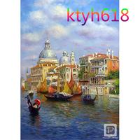 Frameless Diy digital oil painting decoration murals 411 40 50 viewseaborne unique gift home decor L36