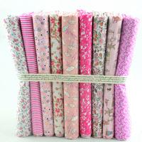 "50CMx50CM 9 Designs Assorted ""Kawaii Pink"" Cotton Fabric Fat Quaters Tilda cloth Quilting  scrapbooking Patchwork Fabric W3B5-1"