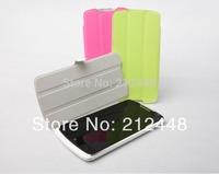 lenovo S920 smart flip cover(white/green/pink),lenovo S920 flip case +lenovo S920 screen protector,free ship