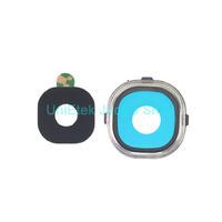 100% original camera lens for Samsung Galaxy S4 Rear back Camera Lens glass with sticker Free Shipping