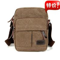 2014 canvas casual shoulder messenger bag student school handbag  free shipping