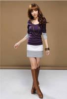 Женская одежда из кожи и замши Womdee B4-6402...
