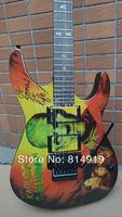 Kirk Hammett Metallic KH2 M-II Mummy Karloff Tlmummy Electric Guitar