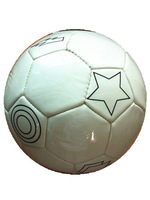 soccer ball, SIZE 4#, promotion gifts,  color in white
