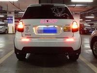 Car LED brake light,  Brake light + turn signal + running lights warning, 3 in1 LED rear fog lamp case for SUZUKI SX4 2007~2013