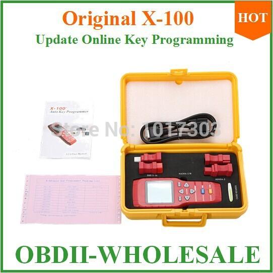 x 100 programador chave auto x 100 com banco de dados completo e forte para o mais importante veículo faz programador x100(China (Mainland))