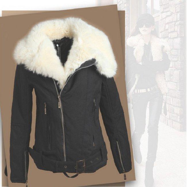 Купить Куртку С Белым Мехом