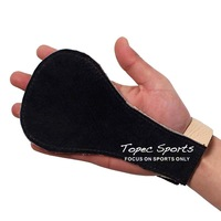 New Sport Cycling Ftiness Genuine Leather Weight Lifting Gloves Crossfit Gymnastics Grips Palm grip protectors double layer