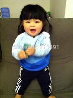 retail autumn boy's 2pcs suit sets kids Children's sport tracksuit sets casual long sleeve hoody jackets+trousers pants