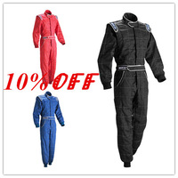 Sparco F1 Auto Product Karting Racing Suit Sport Car Racing Apparel Rally Racing Cloth Kart Overalls Sportswear Motor Jacket