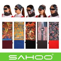 SAHOO Multifunctional Windproof Magicaf Cold-proof Thermal Fleece Bandanas Bicycle Bike Cycling Ride Wigs Cool Mask Protection