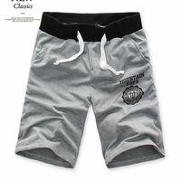 Summer new Korean Slim Men's shorts cotton beach pants five pants shorts shorts