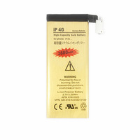 2680mAh High Capacity Gold Battery Mobile Phone Business Li-ion Battery For iPhone 4G