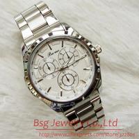 Free Shipping Brand Luxrury Male Clock Fashion watches Stainless Steel man / men's Quartz Wristwatches Relogio Masculino