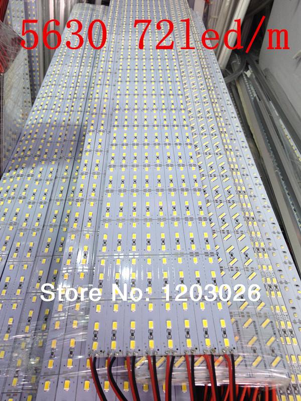 5630 led hard strip bar light 100cm 72led/meter DC12V Samsung chip,High brightness, long life,A large number of spot wholesale.(China (Mainland))