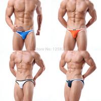 4 Pcs / Lots NEW Mens Sexy bikini bottom swimwear swimming trunks/ shorts Boxers Briefs Low Rise Underwear Smooth Elastic