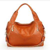 100% Genuine leather bag 2015 women messenger bag new women handbag fashion portable shoulder bag cross-body women leather bag