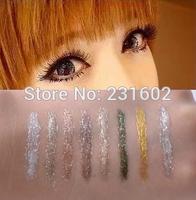 (8pcs/lot) Brand kajal waterproof cosmetic bottle liquid eyeliner gel Eye liner eyes maquiagem delineador maquillaje makeup