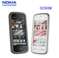 "Nokia 5230 Brand Original Unlocked Nokia 5230XM Mobile Phone GPS 3G 3.2"" JAVA 2MP Classic Symbian cell phones Free Shipping"