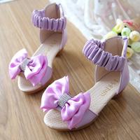 2014 child sandals female child sandals princess shoes baby shoes gladiator big