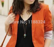 Fashion Vintage Jewelry Globe Telescope Alloy Pendant Necklace for Women 2014 Retro Sweater Accessories