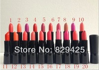Cosmetic Brand NEW Makeup RICH LIPSTICK ROUGE A LEVRES 10PCS / LOT 4.04G FREE SHIPPING